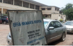Effia Nkwanta Hospital has denied responsibilty for the death of a 55-years-old man