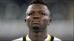 Midfielder Sulley Muntari