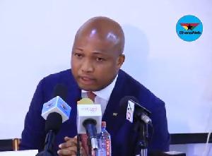 Member of Parliament, North Tongu, Samuel Okudzeto Ablakwa