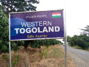 Some members of the Western Togoland separatists were recently arrested for causing havoc