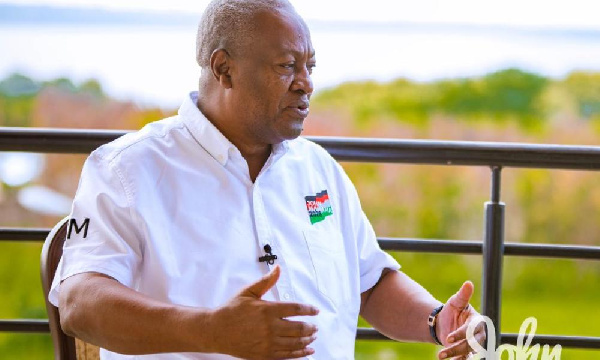 You've lost galamsey fight after giving concessions to NPP members - Mahama to Nana