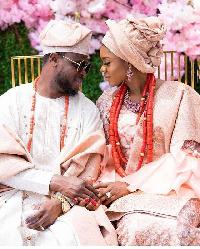 Becca and her husband, Tobi Sanni Daniel