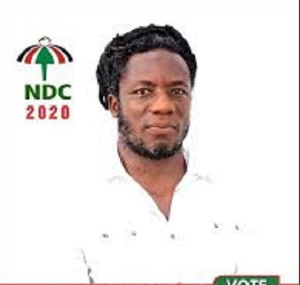 Linford Owuo was going to represent the NDC in this year's Parliamentary elections in Subin