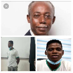 James Nana Womba, 26, was prime a suspect in the murder of Law lecturer, Professor Yaw Benneh