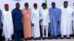 Di govnors make di call for di meeting wey dem hold for Asaba, Delta state, South south, Nigeria