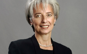 The Managing Director of the IMF, Christine Lagarde