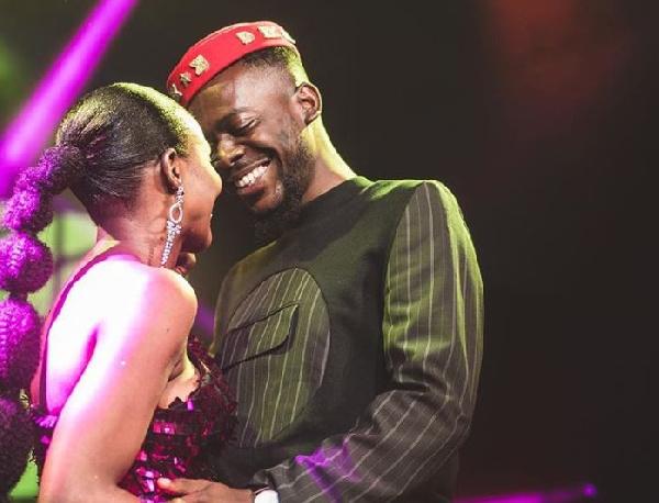 Singer Adekunle Kosoko and wife Simi