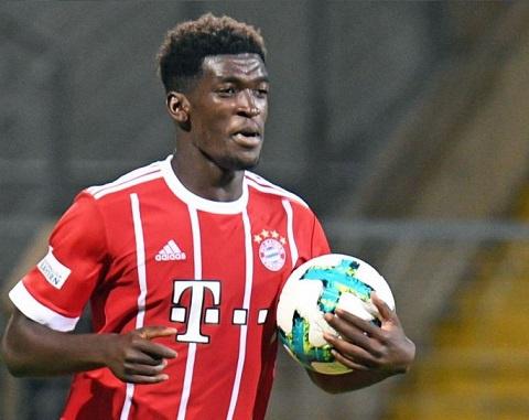 Bayern Munich striker Kwasi Okyere Wriedt wins Player of the Season award in Germany