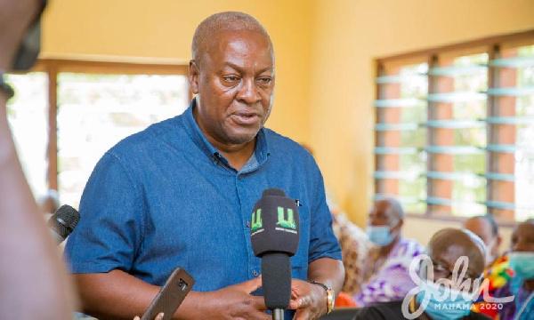 Tamaligu Naa hails John Mahama's visit