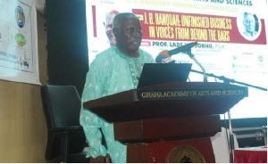 Professor Lade Wosornu is a renowned Ghanaian surgeon