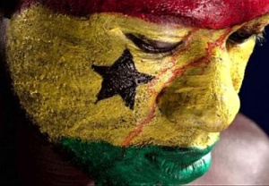 The writer bemoans the lack of patriotism shown by Ghanaians
