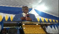 Pastor Charles Oduro of Yennyawoso District of Church of Pentecost