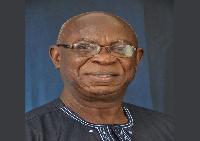 General Secretary of the Maritime and Dockworkers Union, Daniel Owusu-Koranteng