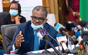 Charles Adu-Boahen, Minister of State, Finance Ministry