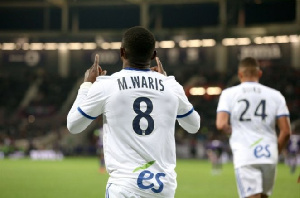 Black Stars striker,Majeed Waris