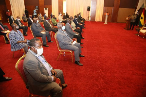 Vice-Chancellors of all public universities paid a courtesy call on Akufo-Addo on Thursday