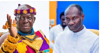 Asantehene, Otumfuo Osei Tutu II and Prophet Badu Kobi