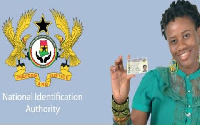 File photo of the National Identification Card
