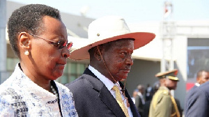 President Museveni and wife Janet