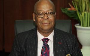 Anselm Ray Sowah, Managing Director of GCB Bank