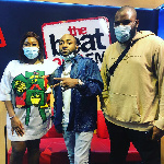 Davido on the Drivetime Show on Beat FM with Gbemi and Segun