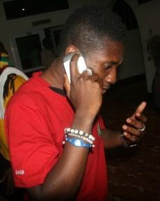 Black Stars skipper Asamoah Gyan