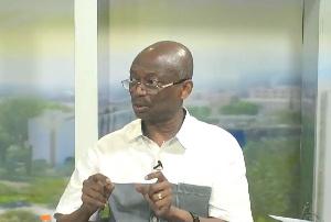 Abdul Malik Kweku Baako, the Editor-in-Chief of the New Crusading Guide newspaper