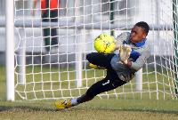 Liberty Professionals goalkeeper Daniel Agyei