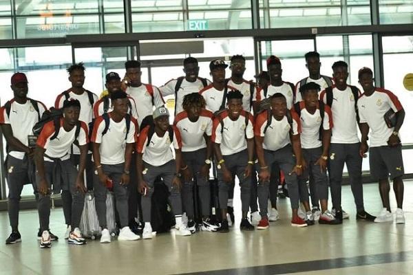 Black Meteors depart for Egypt ahead of U-23 AFCON