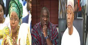 Hajia Alima Mahama, Anthony Karbo and Abubakar Boniface Saddique