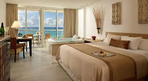 File photo: A hotel suite