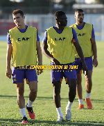 Fit again Kwame Bonsu returns to full scale Espérance de Tunis training
