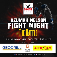 The fight will be held on Azumah Nelson's 60th birthday