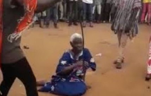 90-year-old Akua Denteh was accused and publicly lynched for practicing witchcraft