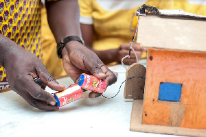 Children across Ghana are able to pursue their science dreams thanks to the science sets