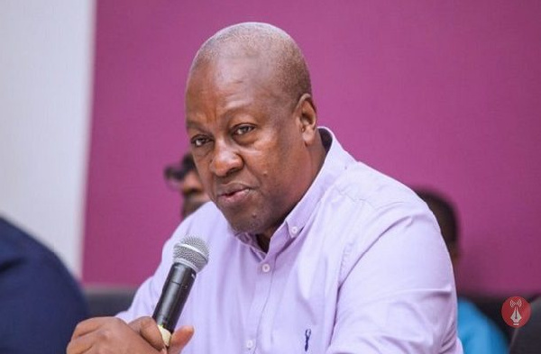 Akufo-Addo deceived you in 2016, vote against him – Mahama to galamsyers