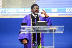 Bishop Charles Agyinasare   Blue