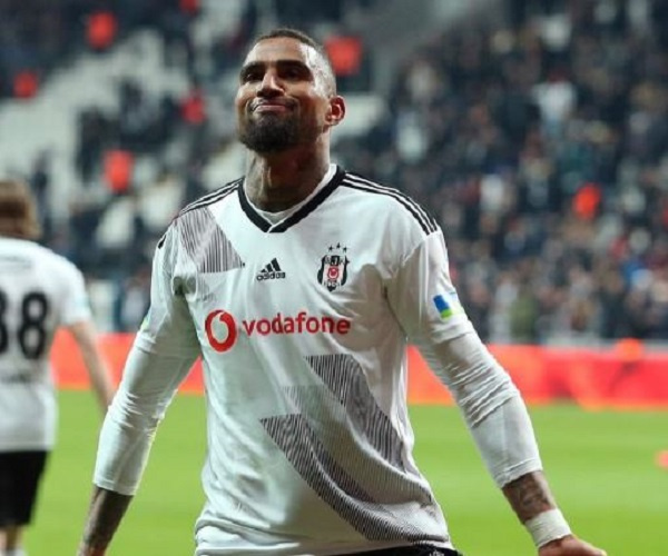 KP Boateng on target as Besiktas share spoils with Trabzonspor