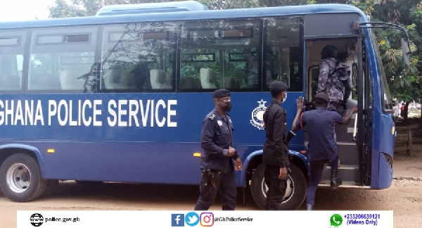 Ghana Police Service introduces free transport for officers