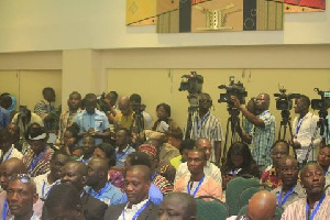 Participants and other stakeholders seated at the Forum