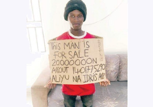 Harun Ibn Sina went viral on social media after he put himself up for sale