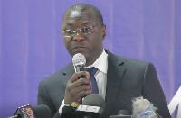 Dr. Mohammed Amin Adam spoke on behalf of the Energy Minister
