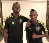 Jonathan Mensah and Harrison Afful
