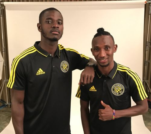 Columbus Crew duo Mensah and Afful arrive in Orlando for \'MLS is back\' tournament