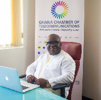 CEO of Ghana Chamber of Telecommunications, Kenneth Ashigbey