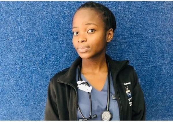 21-year-old SA doctor, Dr. Thakgalo Thibela