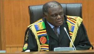 First Deputy Speaker of Parliament Mr. Ebo Barton Odro
