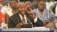 Martin A.B.K. Amidu, Special Prosecutor