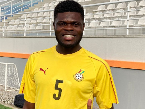 Black Stars midfielder, Thomas Partey