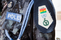 File photo of the Ghanaian police uniform
